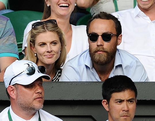 Ještě v červenci si spolu vychutnávali tenisový zápas.