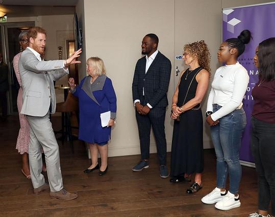 V červnu 2019 při udílení ceny Diana Award, zase nechyběly ani oblíbené boty.