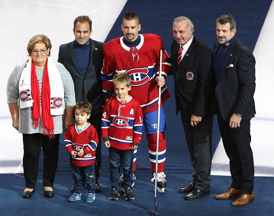 Tomáš Plekanec se vrátil do Česka. Synové ale zatím zůstali v Kanadě.