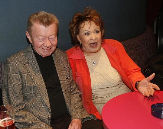 S Jiřinou Bohdalovou