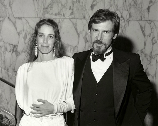 Ford s druhou exmanželkou Melissou Mathison