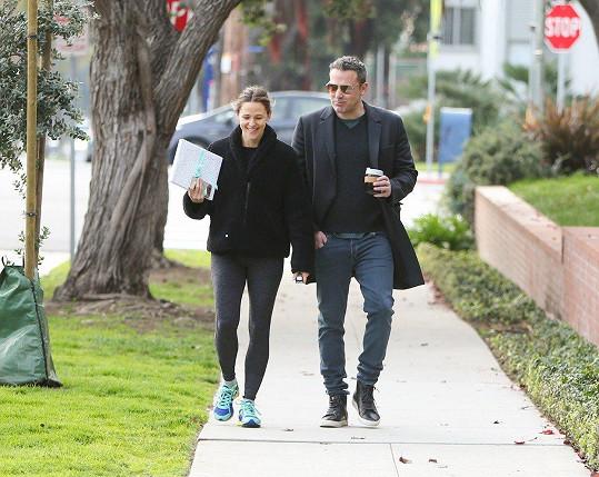 S bývalým manželem Benem Affleckem jsou zadobře.
