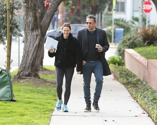 S bývalou manželkou Jennifer Garner vychází skvěle.