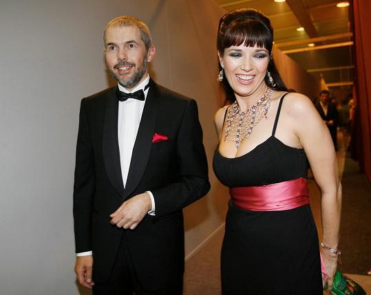 Kostková a Eben v první StarDance v roce 2006