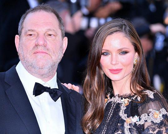 Harvey Weinstein s manželkou