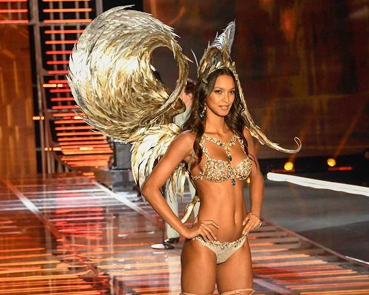 Lais Ribeiro, 2017. Brazilská modelka v loňském roce oblékla Champagne Nights Fantasy Bra v hodnotě 45,5 miliónů korun.