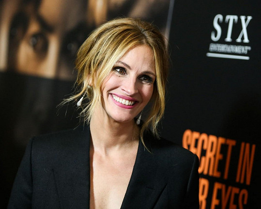 Julia Roberts na premiéře filmu Secret In Their Eyes