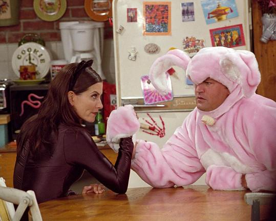 Jako legendární duo Chandler a Monica v Přátelích