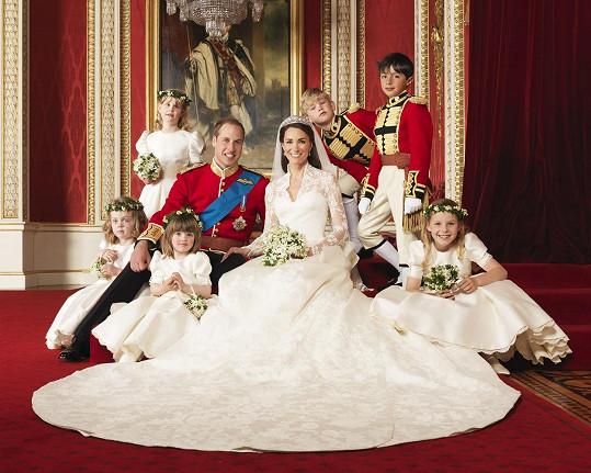 V roce 2011 si vzal svou lásku z vysoké, Kate Middleton.
