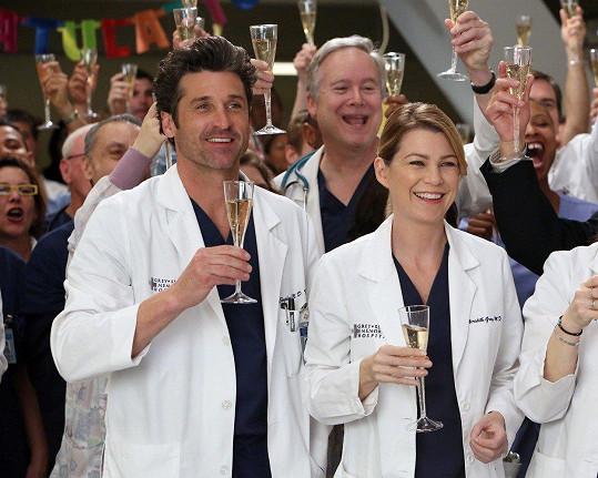 Seriál Chirurgové měl ústřední pár po dobu 11 let, tvořili jej Derek Shepherd a Meredith Greyová (Patrick Dempsey a Ellen Pompeo).