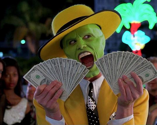 Originální Jim Carrey ve filmu Maska (1994)