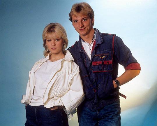 Hvězdnou kariéru odstartovala v roce 1983 ve dvojici s Petrem Sepéšim.