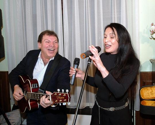 Byla to vynikající zpěvačka.