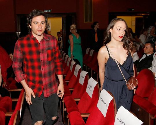 Vojta Kotek s přítelkyní Valerií