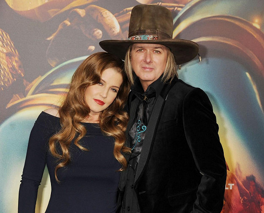 Lisa Marie a hudebník Michael Lockwood