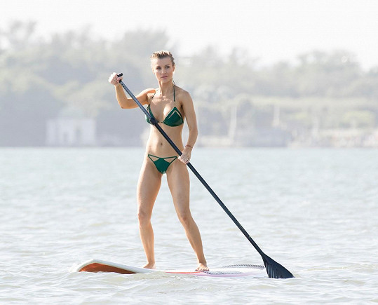 Joanna Krupa je nejúspěšnější polskou modelkou.