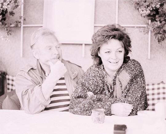 Luděk Munzar s manželkou Janou Hlaváčovou