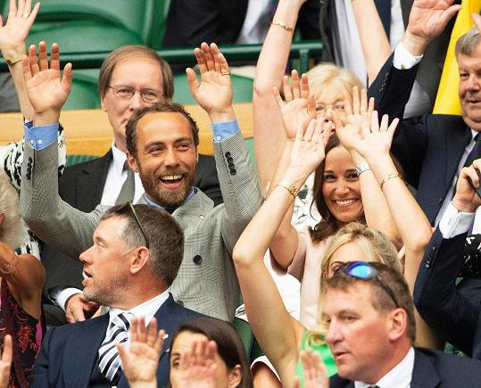 Pippa je velkou fanynkou tenisu a na Wimbledon chodí pravidelně.