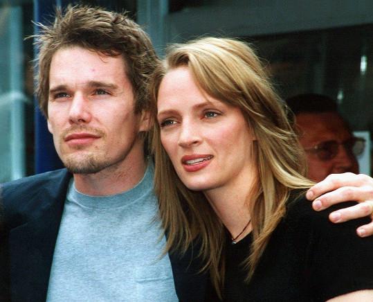 Ethan Hawke a Uma Thurman tvořili manželský pár v letech 1998-2005.