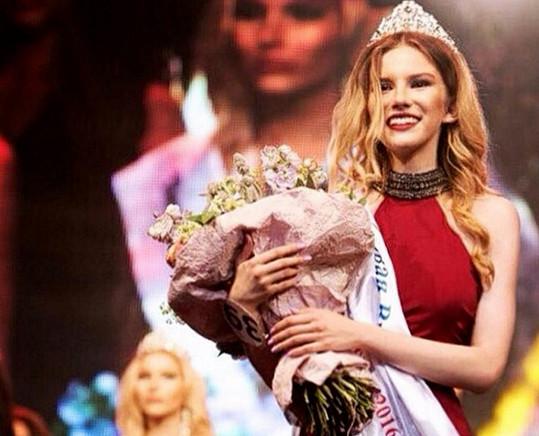 Anna krátce po soutěži Miss Moskva odletěla do Dubaje.