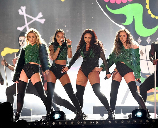Skupina Little Mix na nedávném udílení BRIT Awards