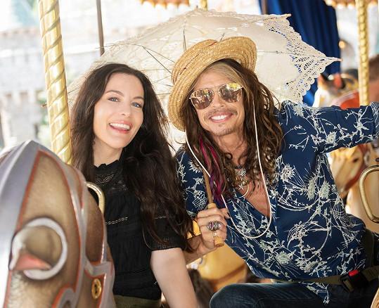 S nejstarší dcerou Liv Tyler, o které léta nevěděl, že je jeho.