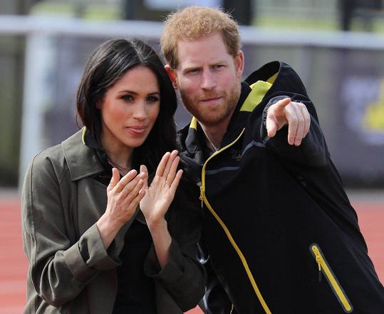 Meghan se 19. května stane manželkou prince Harryho.