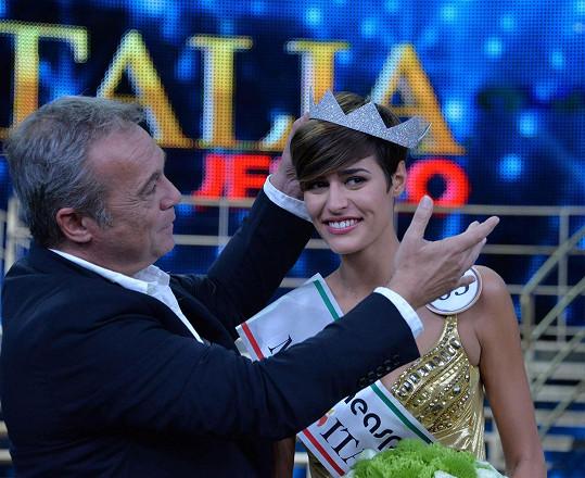 Alice Sabatini dokázala zvítězit i přes nepříliš vydařený rozhovor...
