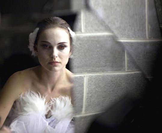 Natalie Portman ve filmu Černá labuť