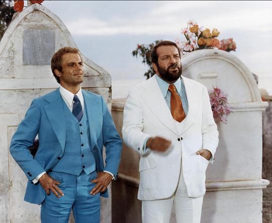 Terence Hill a Bud Spencer ve filmu Dva machři mezi nebem a peklem (1972)