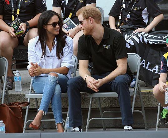 """""""Jsme dva lidé, kteří jsou opravdu šťastní a zamilovaní,"""" nechala se nedávno Meghan slyšet v časopisu Vanity Fair."""