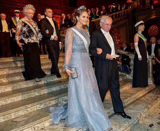 Princezna Madeleine s Paulem Modrichem