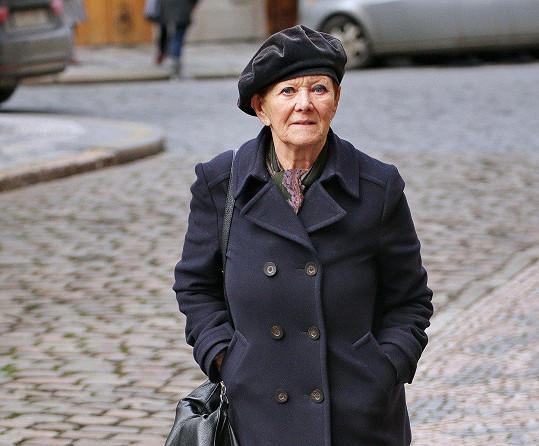 Zdena Hadrbolcová letos v létě oslavila osmdesátku.