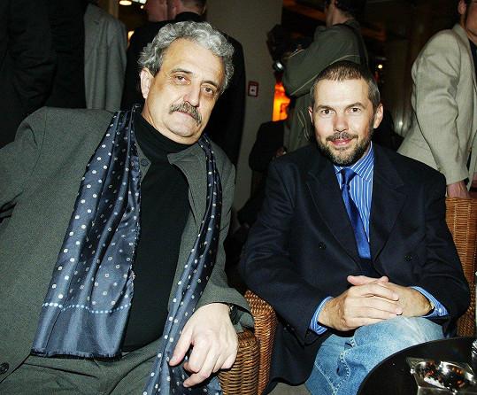 Pavla je dcerou zesnulého exministra Pavla Dostála. Na snímku s Markem Ebenem (vpravo)