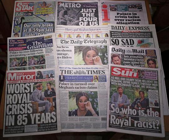 Po jeho odvysílání začala britská média psát o velké královské krizi.