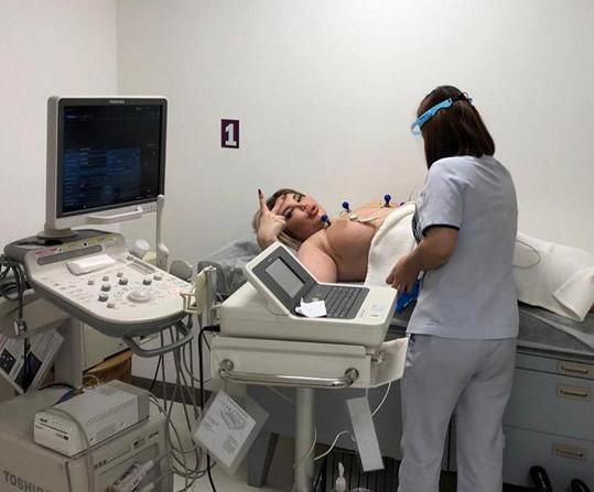 Alves na předoperačním vyšetření