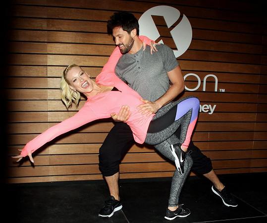 Maksim a Peta jsou stálicemi pořadu Dancing with the Stars.