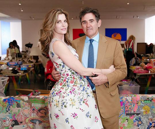 S manželem Peterem Brantem