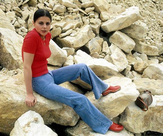Andrea Čunderlíková v 70. letech