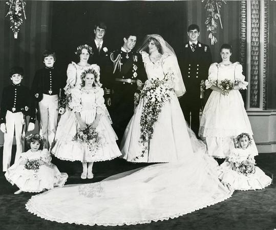 Svatba byla velkolepá a hojně medializovaná.