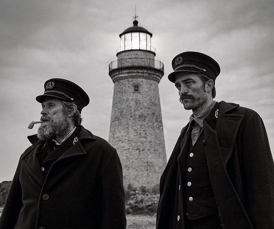 Ve filmu The Lighthouse s Willemem Dafoem