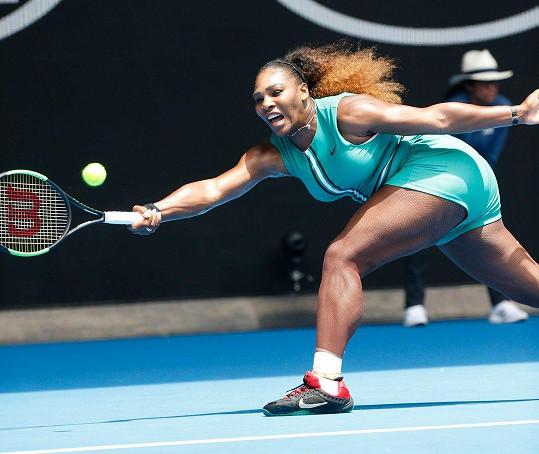 Serena Williams si sama navrhuje modely.