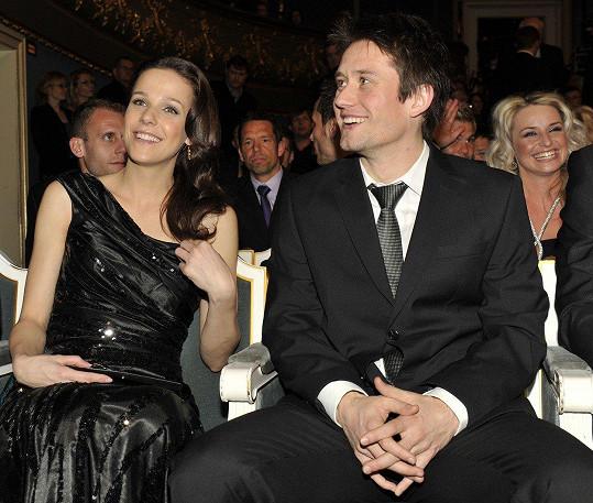 A s manželem Tomášem Rosickým