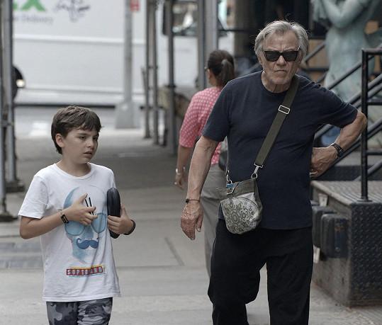 Romana se herec dočkal v 65 letech.