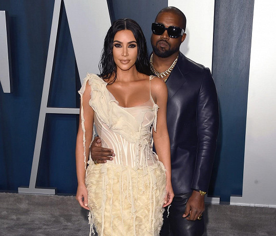 S manželem Kanyem Westem