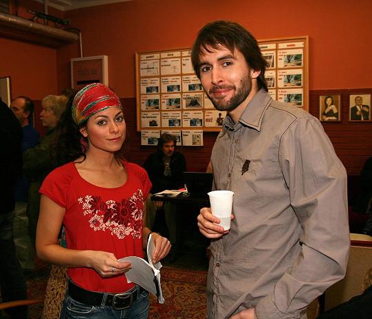 Z dob natáčení Velmi křehkých vztahů s kolegou Danielem Bambasem. Rok 2007