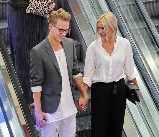 Vojta Drahokoupil a Kristýna Kubíčková jsou zamilovaní až po uši.
