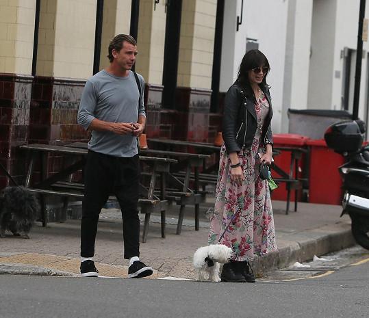 Gavin Rossdale s dcerou Daisy Lowe
