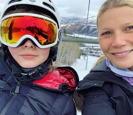Gwyneth Paltrow zveřejnila na svém instagramovém účtu fotku s dcerou.