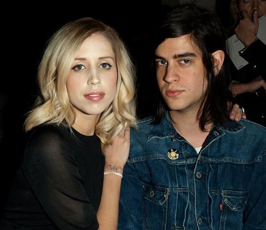 Thomas Cohen s Peaches Geldof, která zemřela loni v dubnu.